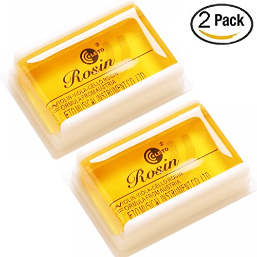 Rosin Natural Low Dust Rosin for Violin Viola and Cello