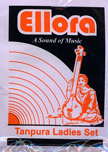 Tanpura Strings, Female, Ellora Professional, Complete set of strings