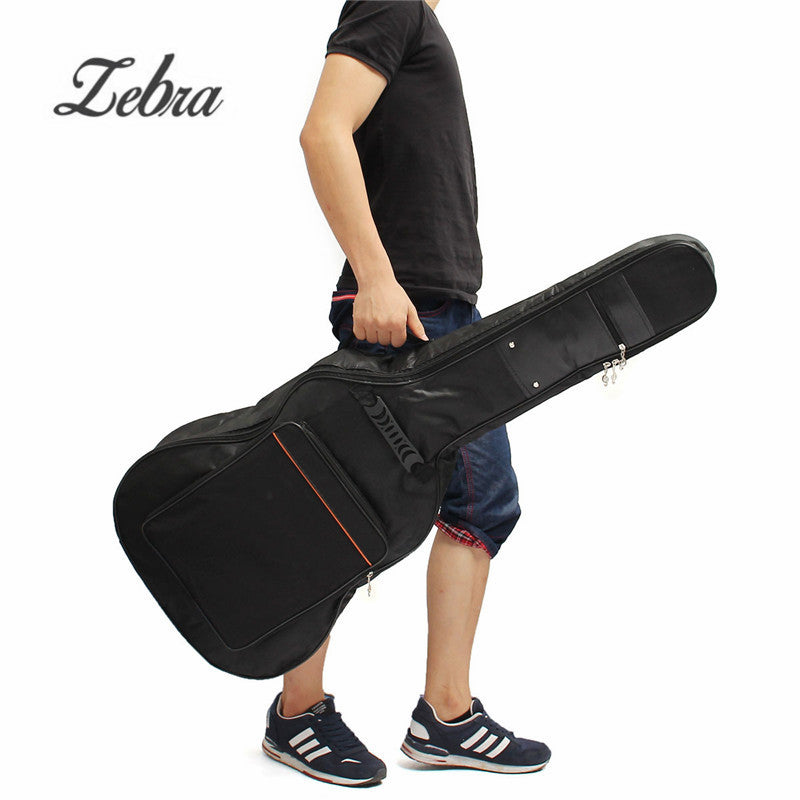 38/39/40/41 Inch Canvas Padded Bass Guitar Bag Backpack Guitar Case Cover With Double Shoulder Straps for Musical Ukulele Parts