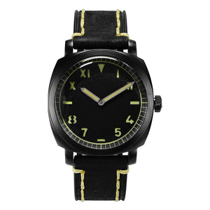 San Martin Steel Diver DLC - WR Watches PLT