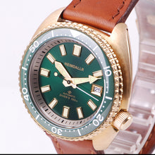 Load image into Gallery viewer, Heimdallr Bronze Turtle Ceramic Bezel - WR Watches PLT