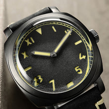 Load image into Gallery viewer, San Martin Steel Diver DLC - WR Watches PLT