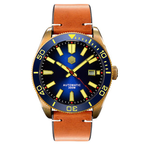 San Martin SN089-B - WR Watches PLT