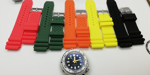 Tuna Rubber Strap
