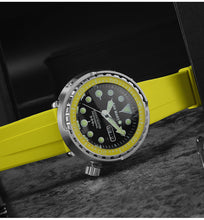 Load image into Gallery viewer, Mineral Glass Bezel for San Martin Tuna - WR Watches PLT