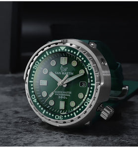 Mineral Glass Bezel for San Martin Tuna - WR Watches PLT