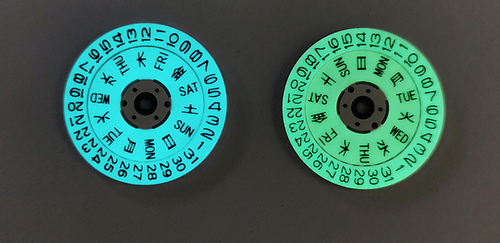 Full Luminous Day Date Disc
