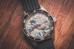 Proxima 65 Great Wave Off Kanagawa Dial