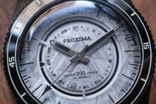 Load image into Gallery viewer, Proxima Black 65 PX01 Meteorite dial