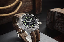 Load image into Gallery viewer, San Martin Steel Tuna With Ceramic Bezel Insert - WR Watches PLT