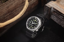 Load image into Gallery viewer, San Martin Steel Tuna With Ceramic Bezel Insert