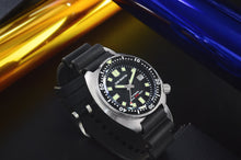 Load image into Gallery viewer, San Martin Turtle 6105 (Rubber Strap) - WR Watches PLT