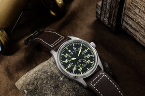 San Martin Steel Flieger Quartz - WR Watches PLT