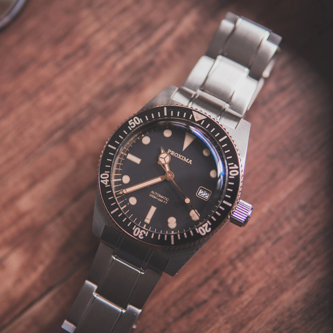 Proxima 65 Bronze Bezel - WR Watches PLT