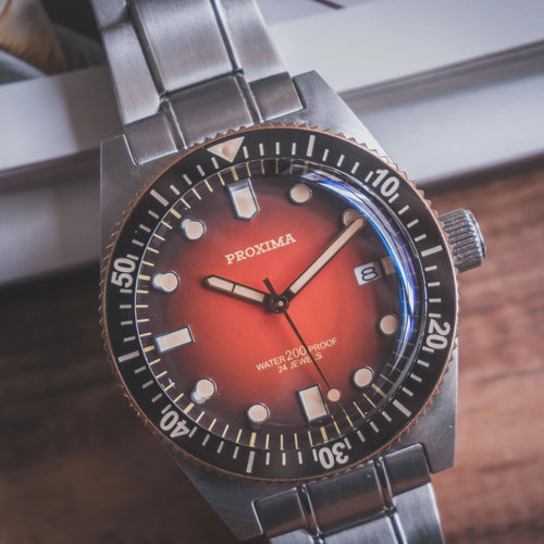 Proxima 65 Bronze Bezel TD - WR Watches PLT