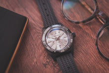 Load image into Gallery viewer, Proxima Black 65 Day-date Silver Dial