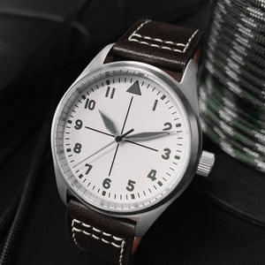 San Martin Pilot Mark 18 White Dial - WR Watches PLT