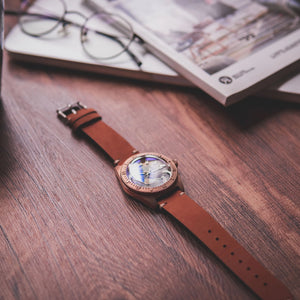 Proxima Bronze 65 Great Wave Off Kanagawa Dial - WR Watches PLT