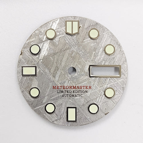 Grey Meteorite Day-date Dial for Seiko Mod