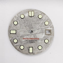 Load image into Gallery viewer, Grey Meteorite Dial for Seiko Mod