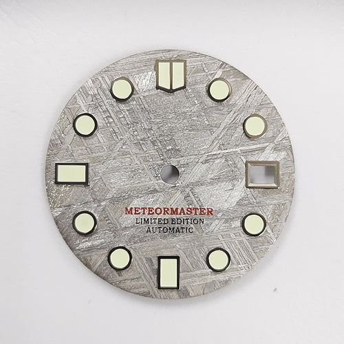 Grey Meteorite Dial for Watch Mod