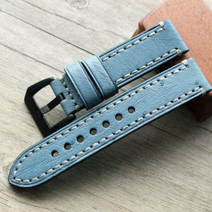Ostrich Leather Strap - WR Watches PLT