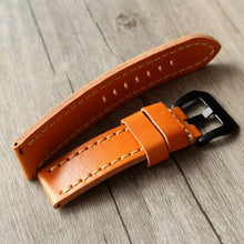 Load image into Gallery viewer, Single-Piece Veg Leather Strap