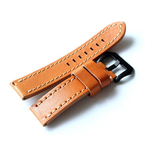 Single-Piece Veg Leather Strap - WR Watches PLT