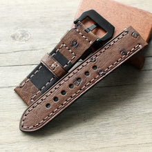 Load image into Gallery viewer, Ostrich Leather Strap - WR Watches PLT