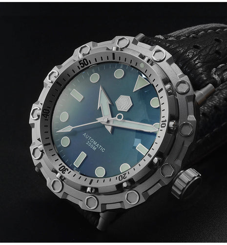 San Martin Octopus Diver - WR Watches PLT