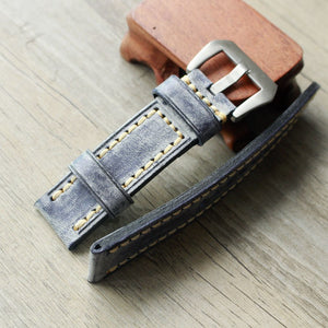 Waxed Leather Strap - WR Watches PLT
