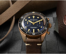 Load image into Gallery viewer, San Martin Bronze 65 Diver Chronograph