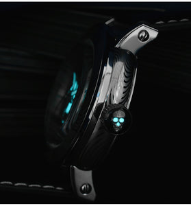 San Martin Damascus Skull Watch - WR Watches PLT