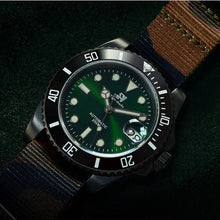 Load image into Gallery viewer, San Martin Steel Sub DLC - WR Watches PLT