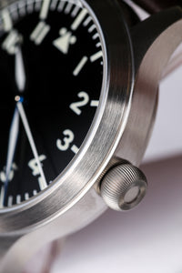 Escapement Time Steel Flieger