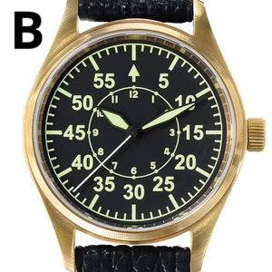 San Martin Bronze Pilot Mark 18 - WR Watches PLT