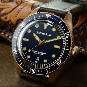 San Martin Bronze 65 Diver - WR Watches PLT
