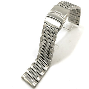 Solid Mesh Stainless Steel Bracelet - WR Watches PLT