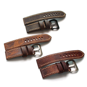 Crazy Horse Leather Strap