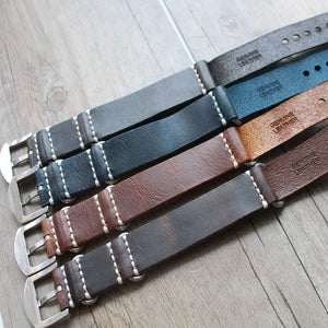 Leather Nato Strap - WR Watches PLT