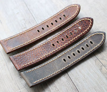 Load image into Gallery viewer, Crazy Horse Leather Strap