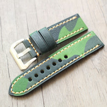 Load image into Gallery viewer, Camo Leather Strap