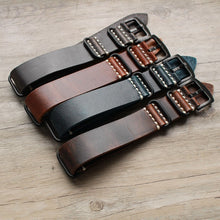 Load image into Gallery viewer, Leather Nato Strap - WR Watches PLT