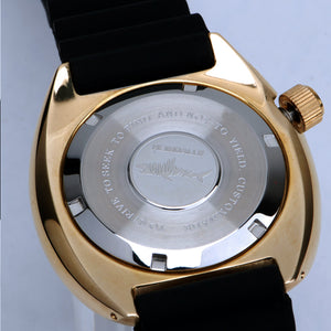 Heimdallr Bronze Turtle Black Dial ''HEIMDALLR'' Logo - WR Watches PLT