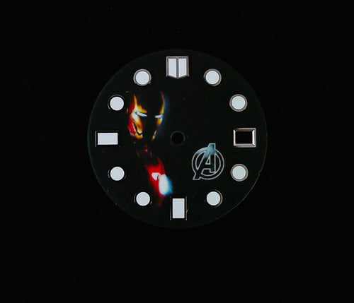 Full Luminous Ironman Dial for Seiko Mod