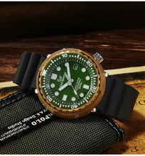 Load image into Gallery viewer, San Martin Bronze Tuna With Ceramic Bezel Insert - WR Watches PLT