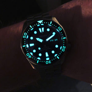 Luminous Day Date Disc - WR Watches PLT