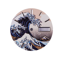 Load image into Gallery viewer, The Great Wave of Kanagawa Dial - WR Watches PLT