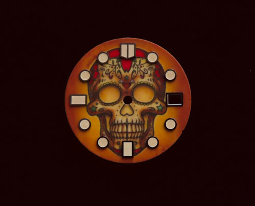 Full Luminous Indie Skull Dial for Seiko Mod