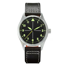 Load image into Gallery viewer, San Martin Steel Flieger Quartz